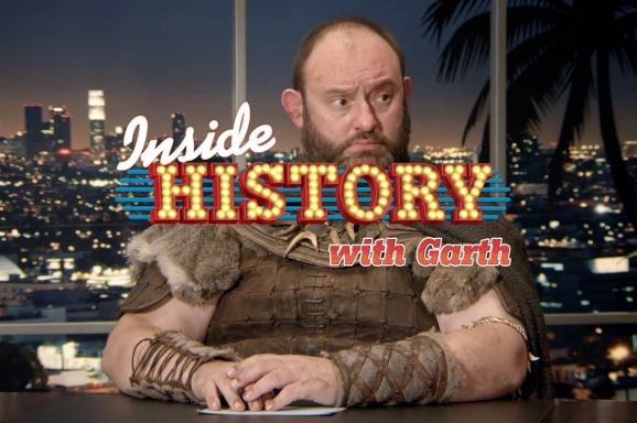 Inside history with Garth